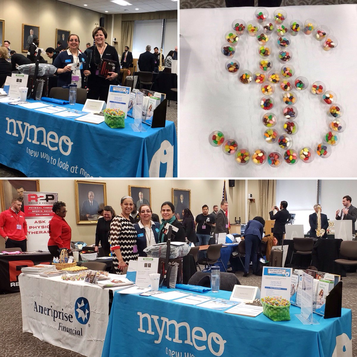#tbt Last week, Nymeo staff and Nymeo's new Financial Advisors were at the SEBA Winter Expo at NIST! We enjoyed seeing everyone who stopped by at our tables! #creditunion #money #nymeo #NIST #finances #financialfitness #financialwellbeing #financialgoals #maryland #WinterExpo https://t.co/yelRB7KCTJ