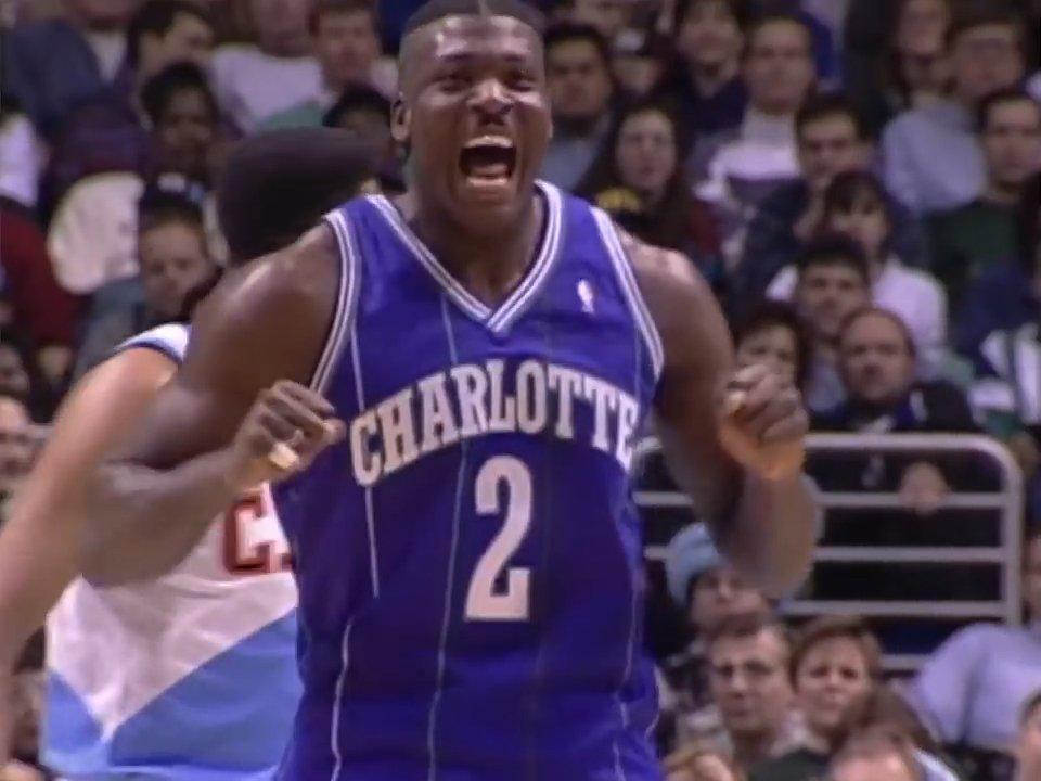 Larry Johnson ULTIMATE Hornets Mixtape! via @NBA