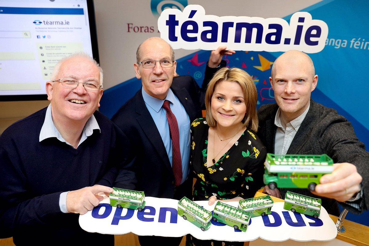 Ar aghaidh linn! Bus oscailte i measc na dtéarmaí nua ar shuíomh athdheartha @tearma_ie a seoladh inniu | All aboard! Open top bus among new terms added to @tearma_ie which was launched today #Téarma #SnaG19 @FiontarGaeilge https://www.forasnagaeilge.ie/ar-aghaidh-linn-le-tearma-ie/…