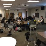 Image for the Tweet beginning: Mr. Black's class rocking a