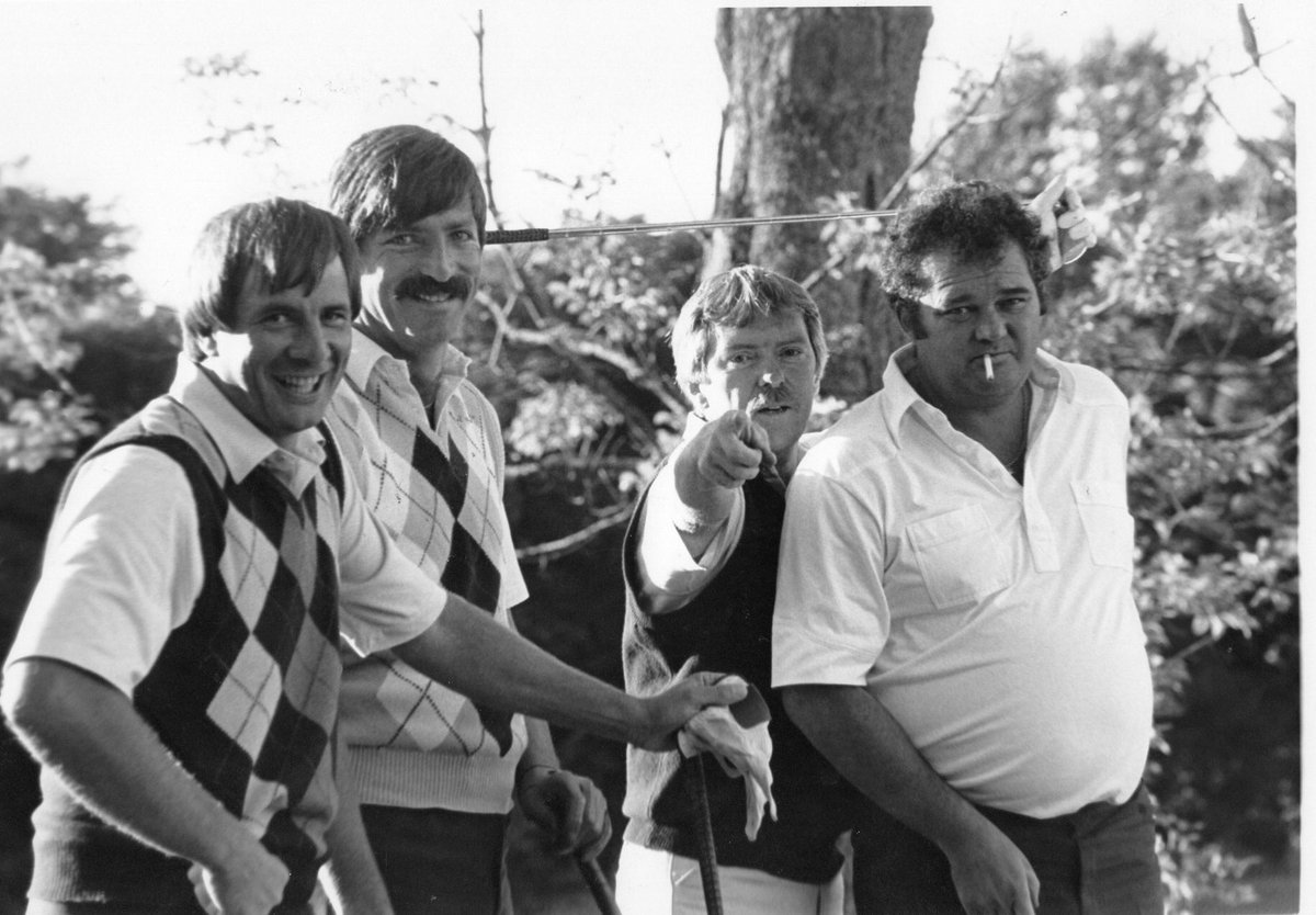 #ThrowbackThursday @ the FGC.  - August 22, 1984  •(L to R): Al Patterson, Paul Kennedy, Ken Fulton and Ken Venning.   Dorothy Scott / The Daily Gleaner<br>http://pic.twitter.com/AAIQ0y1cw5