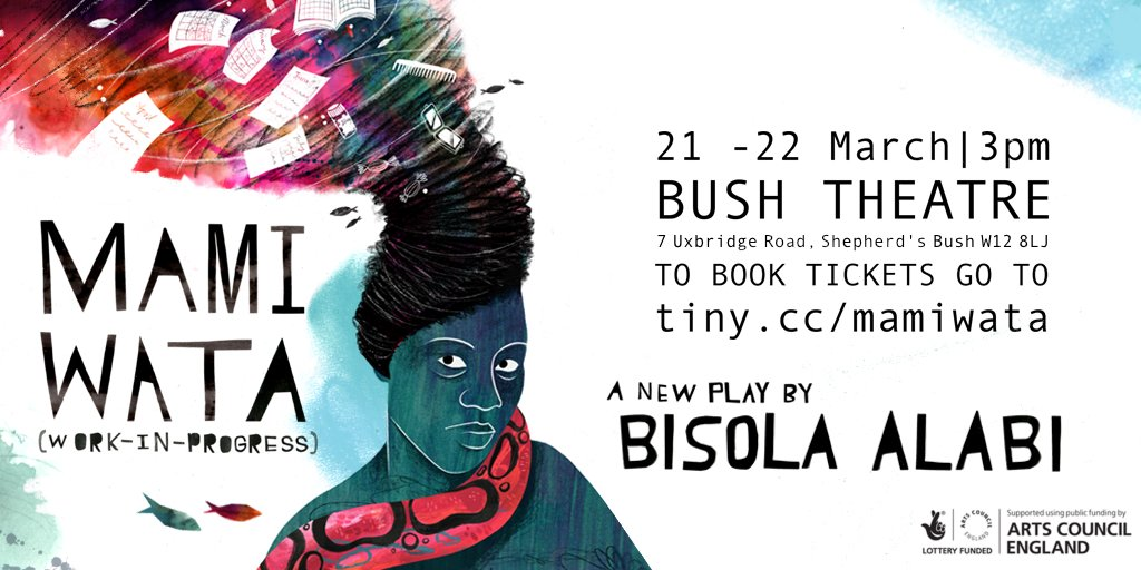 "Uživatel Bush Theatre na Twitteru: ""Bush writer-in-residence"