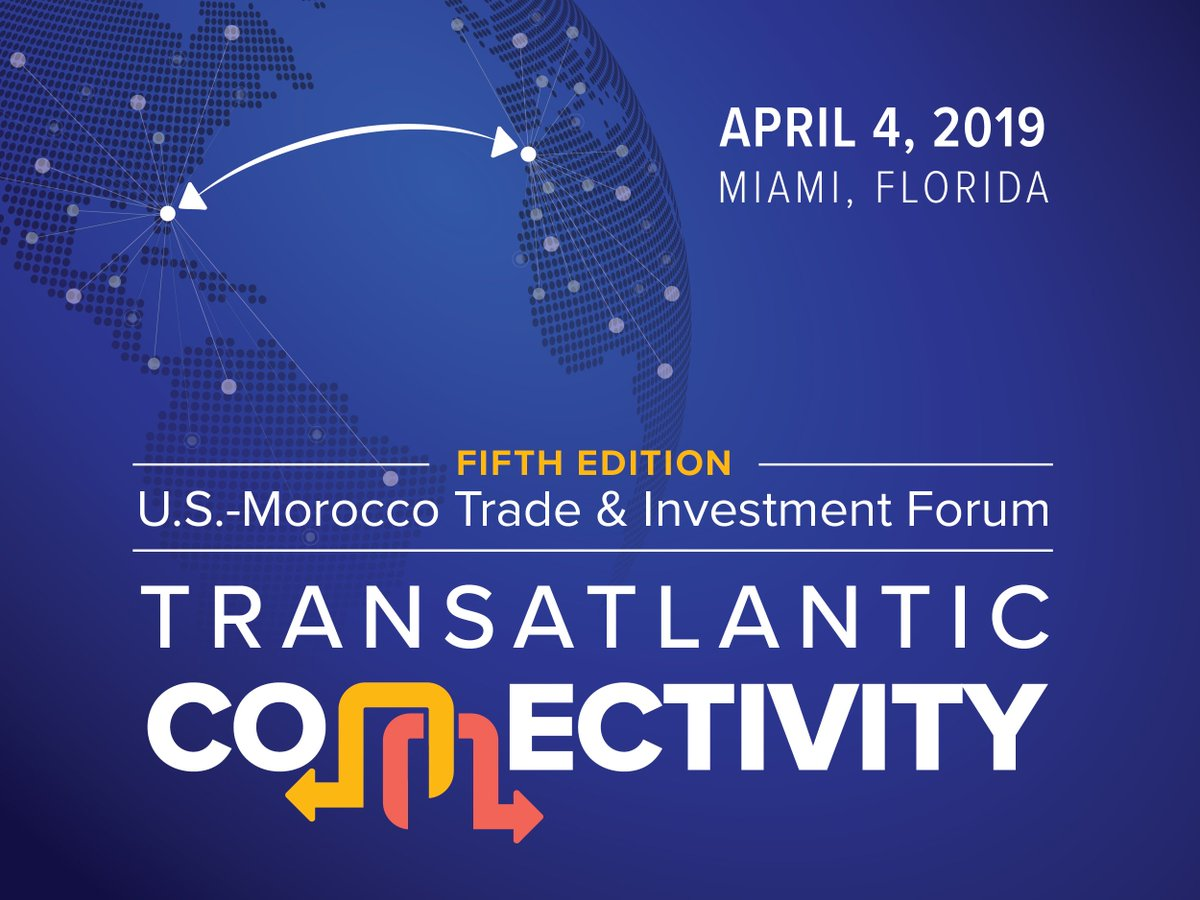 test Twitter Media - Are you in #Miami #Florida? Join us at the 5th U.S.-Morocco Trade & Investment Forum—the annual gathering of business leaders, government officials, and stakeholders to discuss the development of trade between the U.S., #Morocco and the rest of the African continent. https://t.co/bcc5B8YdXm