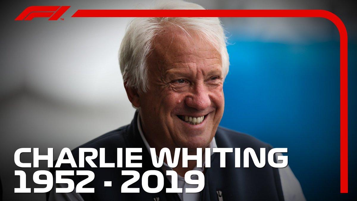 Formula 1's photo on Charlie Whiting