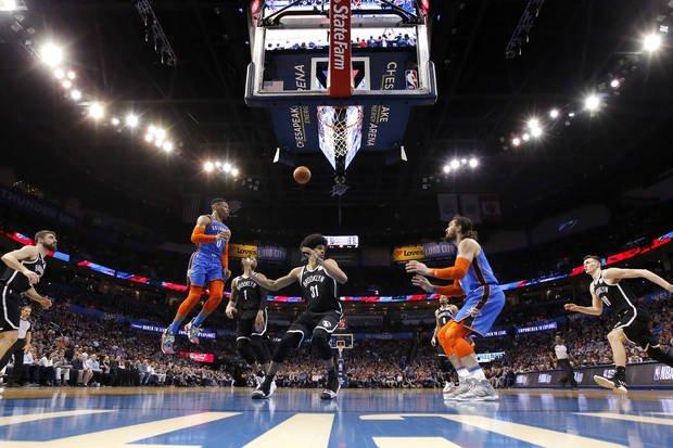 The Oklahoman's photographers are Awe-some! PHOTO GALLERY -  @okcthunder vs. Nets: http://www.oklahoman.com/gallery/6039826/pictures/6232509?display=oklahomanApp… @NewsOK