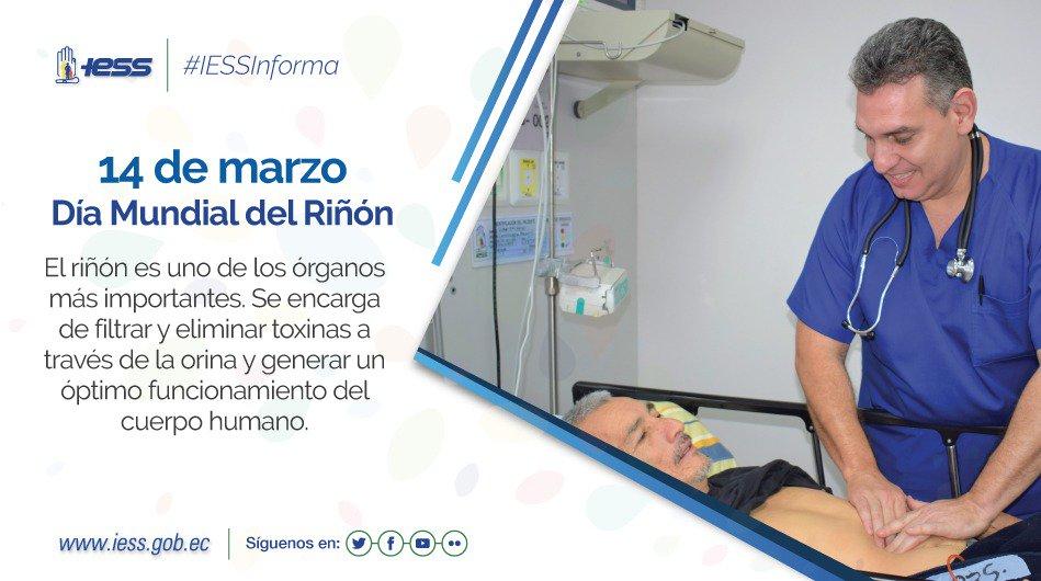 IESS's photo on #DíaMundialDelRiñón