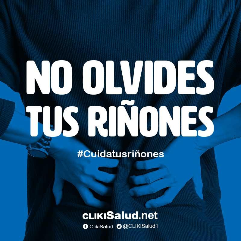 CLIKISalud.net's photo on #DíaMundialDelRiñón