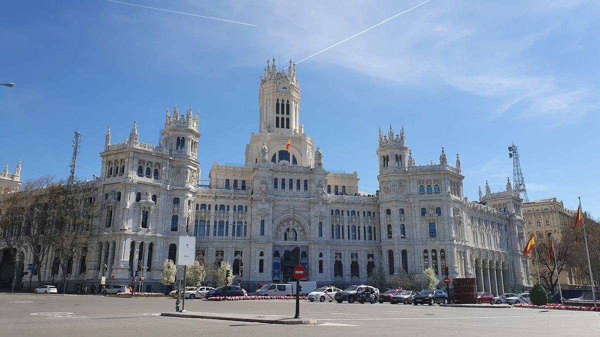 Visita Madrid S Tweet Hoy Nuestro Admirado Palacio De