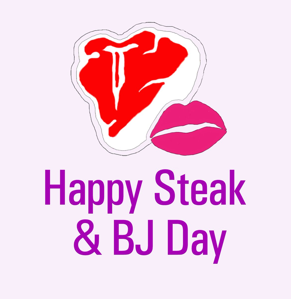 Happy Steak and BJ Day!   Make his steak medium rare and his BJ well done   #SteakandBJDay #AdultWork <br>http://pic.twitter.com/gX0XWjyZAB