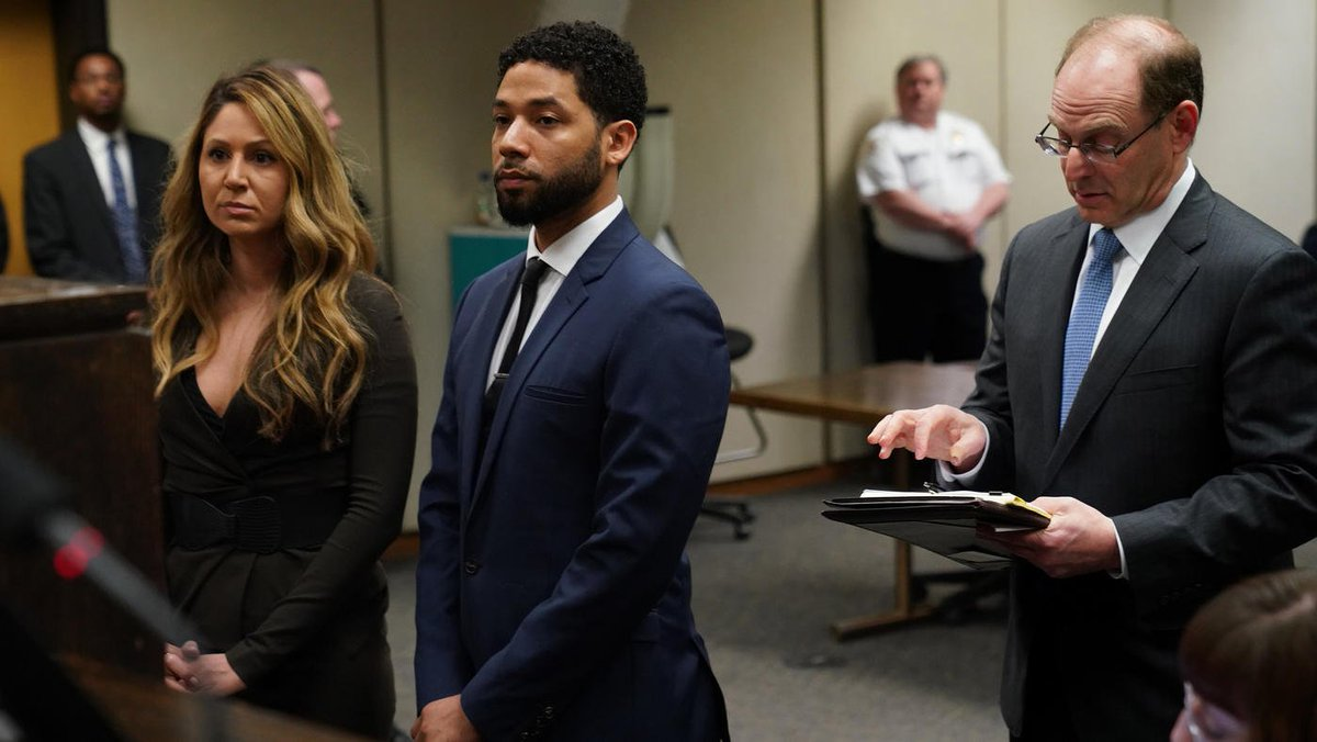 Jussie Smollett pleads not guilty during arraignment for alleged hoax