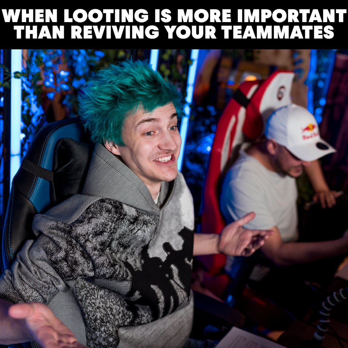 Tag the friend of yours who does that. #NinjaXGotaga