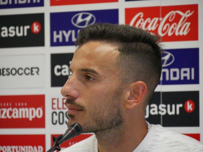 Fernández, en sala de prensa (Foto: CCF).