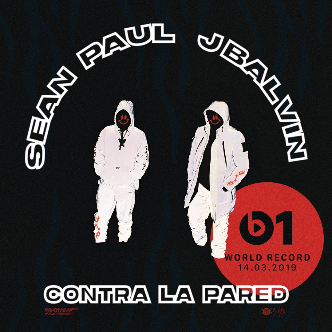 🔥 Today's #WorldRecord from @duttypaul & @JBALVIN 'Contra La Pared' 👉🏼📲 LISTEN apple.co/_ContraLaPared