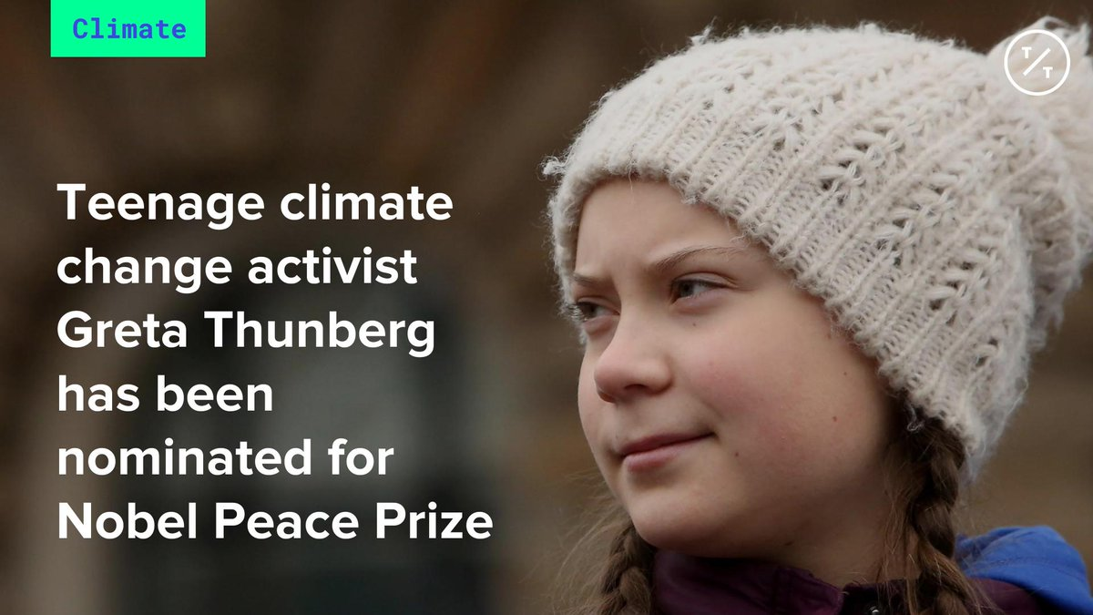 TicToc by Bloomberg's photo on Nobel Peace Prize