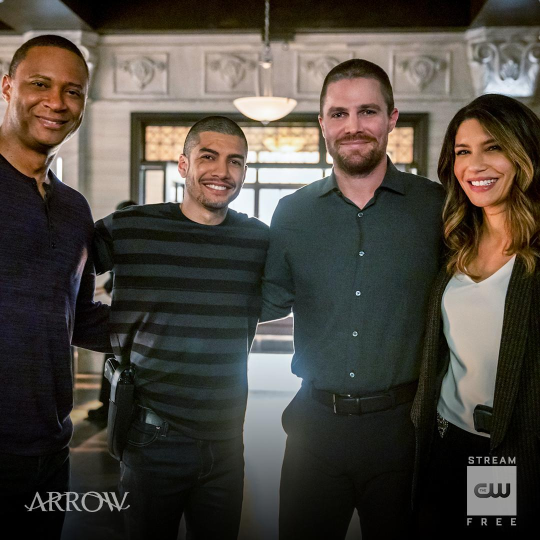 A team on and off camera. Stream for free on The CW App: https://t.co/pF5er0661f #BTS https://t.co/DKkmPi4HND