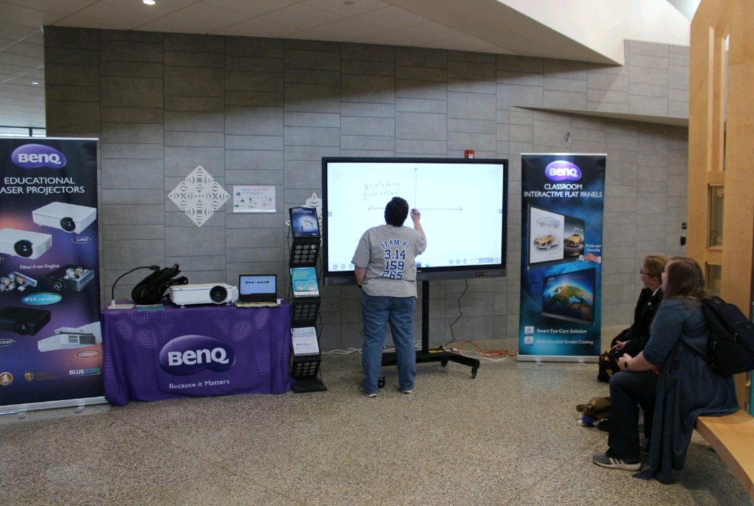 BenQ, Bringing Enjoyment and Quality to Educators today at the NYSCATE Southern Tier ConnectED Event #NYSCATE #BenQ #We_Love_Our_BenQ_Boards