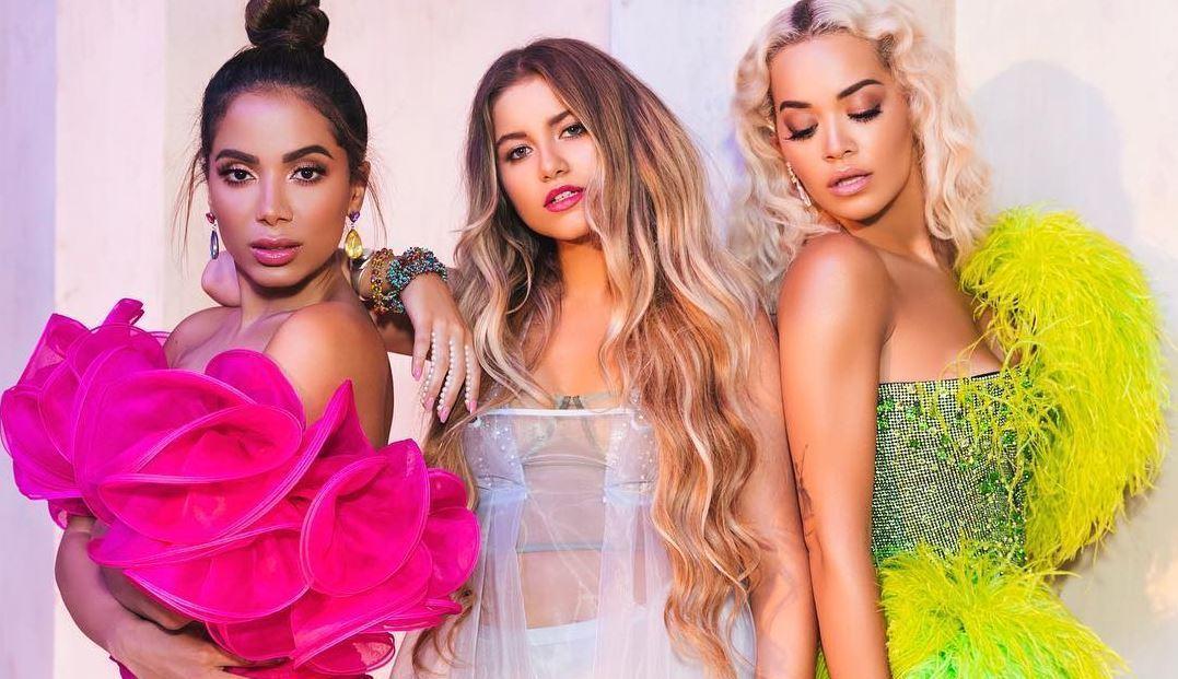 MTV BRASIL's photo on rita ora & anitta