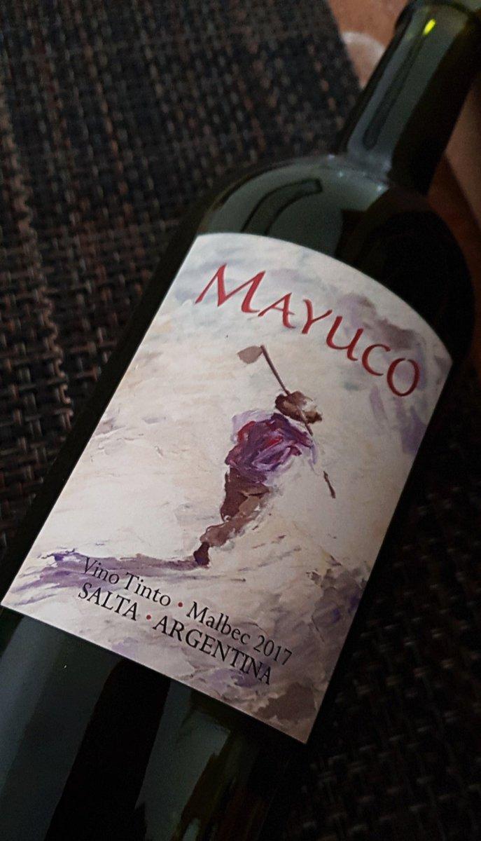 Amable y rico salteño Amigo del bolsillo, súper recomendable! #vino #VallesCalchaquíes