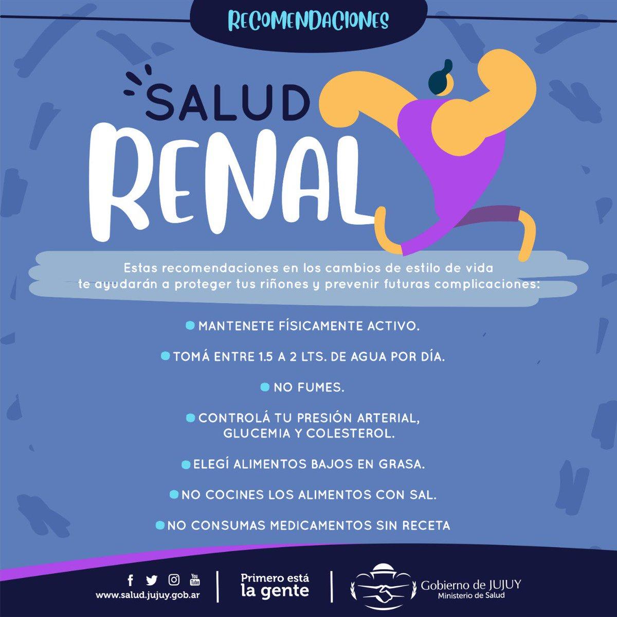 Salud Jujuy's photo on #DíaMundialDelRiñón