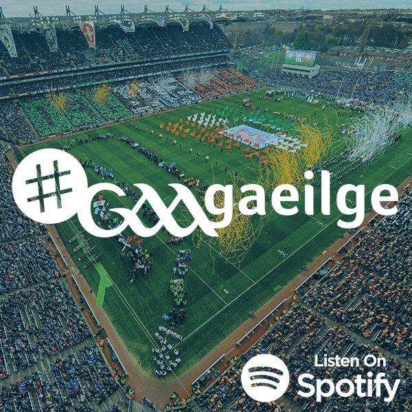 Just in!! Fáilte chuig seinnliosta Gaeilge CLG ar spoitify.  The #GAAgaeilge Playlist has been released on the GAA Spotify!   Bainigí taitneamh as! #SnaG19 Listen here: https://open.spotify.com/user/y2622b0suk0btaxvrbs4iwu9h/playlist/3OpKanzCX854d2yNz7TViD?si=qrn-r8LeTOmqnlnmORbrBw…