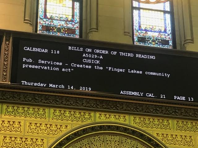 Assembly passes Finger Lakes Community Preservation Act