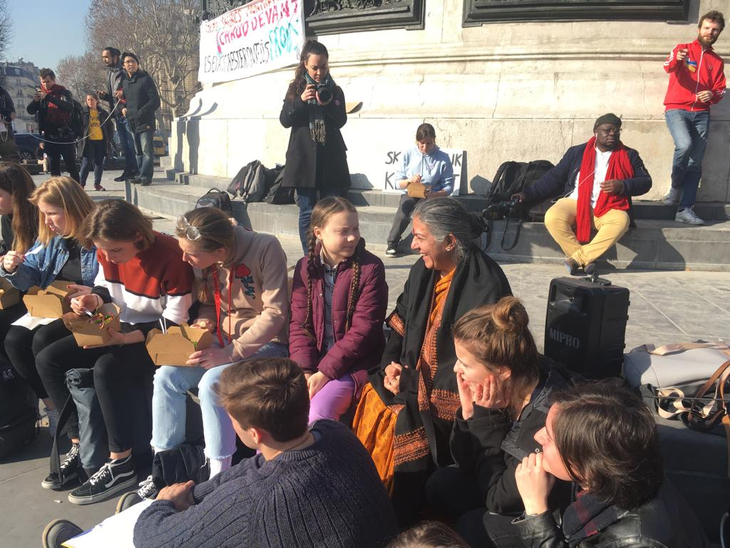 Navdanya International's photo on #climatejustice