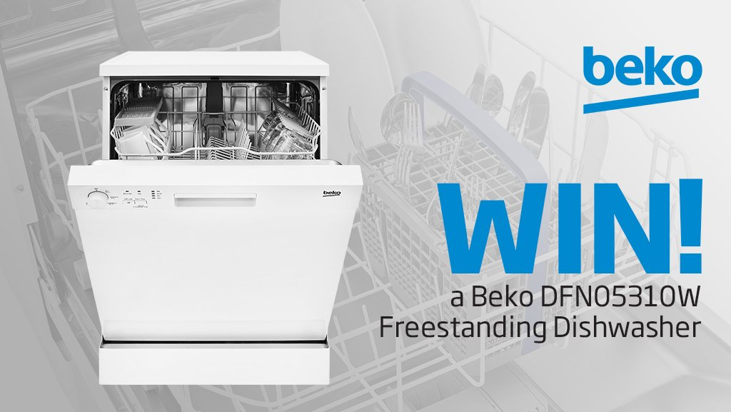 Enter our latest competition to #WIN a @BekoUK DFN05310W Freestanding Dishwasher! Simply follow us @HughesDirect & RT 🍀🎁 Ends 20/03/19, Ts&Cs apply - https://www.hughes.co.uk/competition-terms-and-conditions …