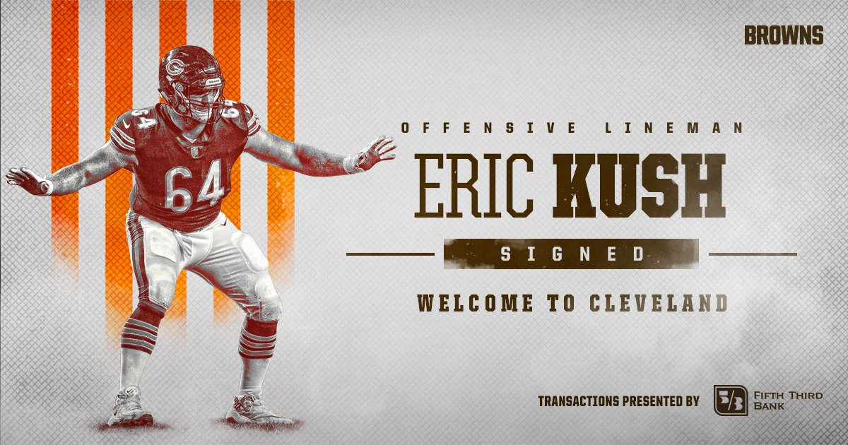 Welcome to Cleveland, Eric Kush!  �� » https://t.co/9GeZeGuNQY https://t.co/trlTlFdei8