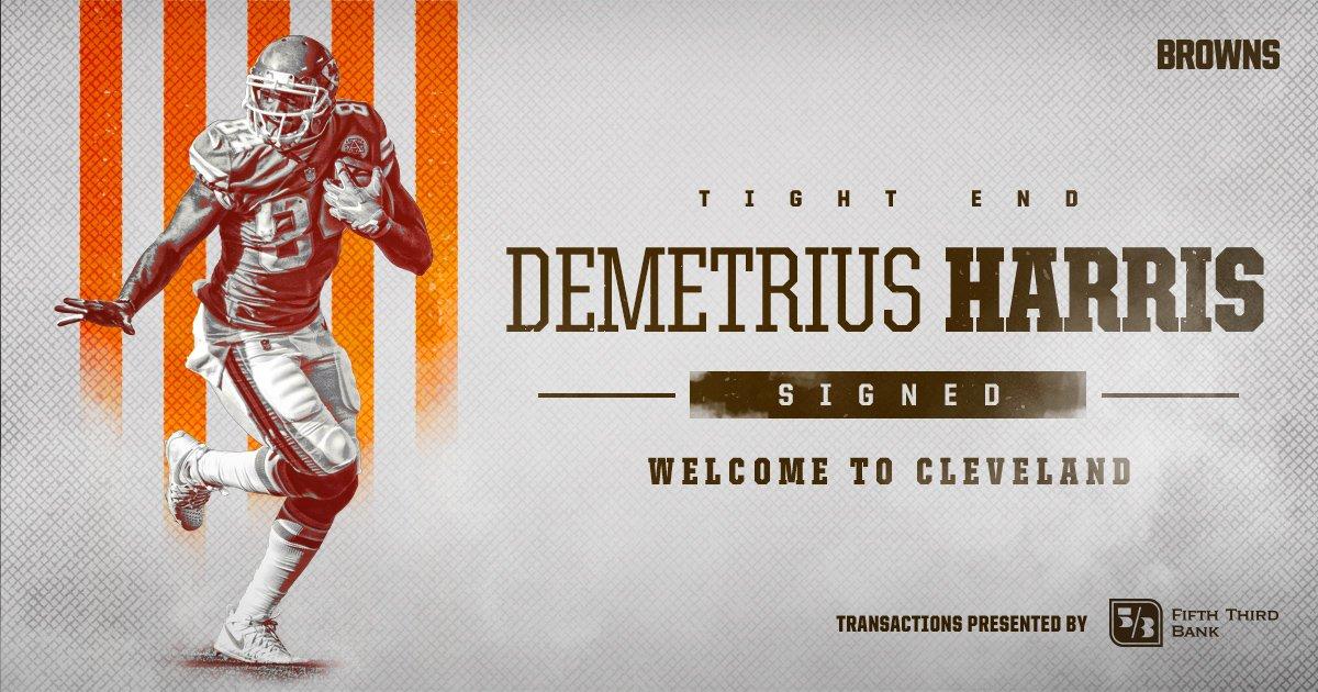 Welcome to Cleveland, Demetrius Harris!  �� » https://t.co/9GeZeGuNQY https://t.co/0NTbawq8ZT