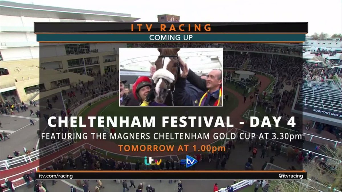 ITV Racing's photo on Gold Cup Day