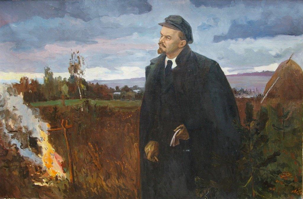 Ленин в ссылке картинки