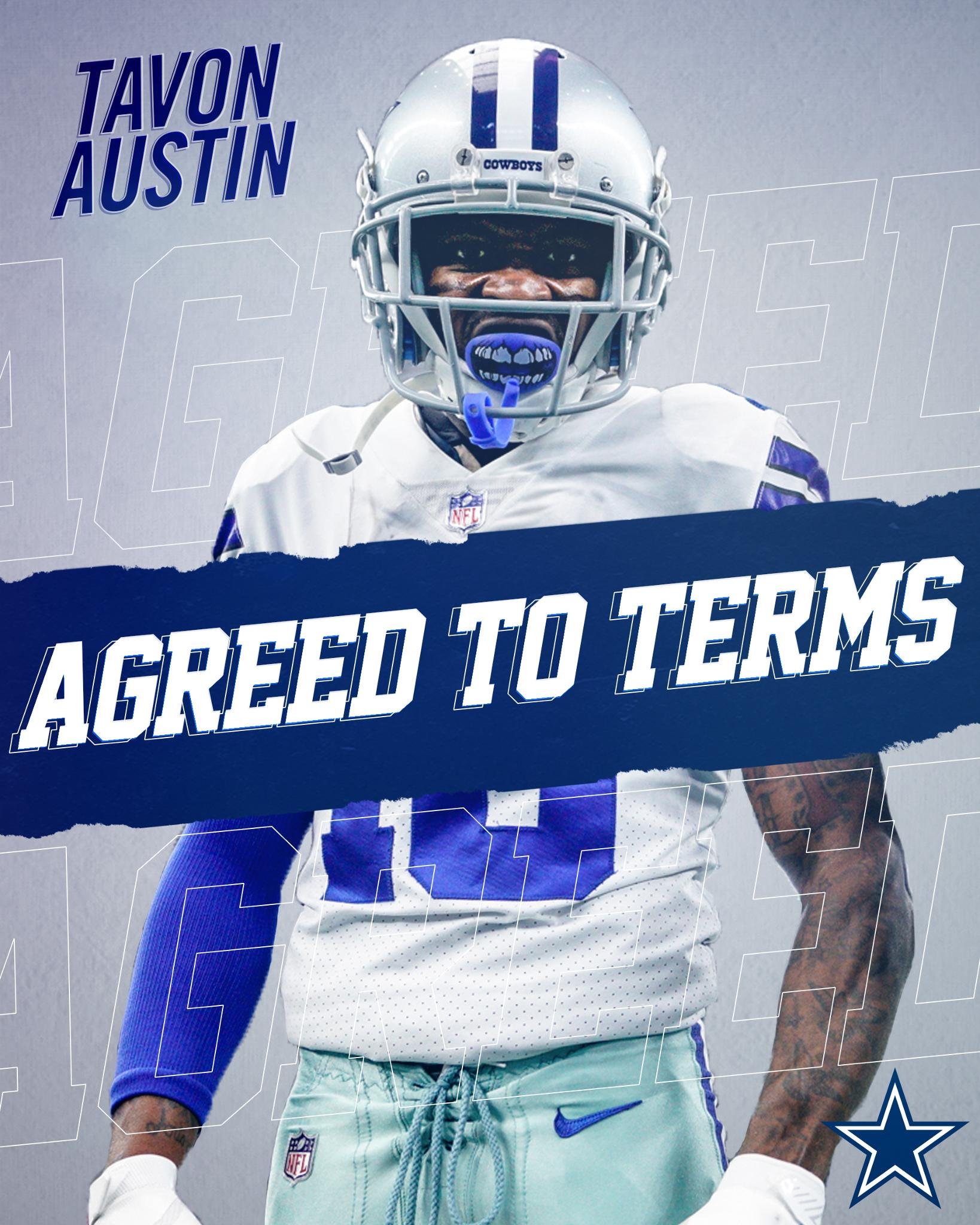The #DallasCowboys have agreed to terms with wide receiver Tavon Austin.  MORE → https://t.co/hTald4AbS4 https://t.co/kNe80hDhNJ