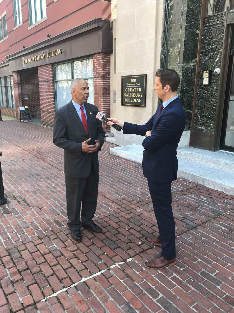 More #OpportunityZones & #mdpolitics talk in Salisbury with @RyanEldredgeTV @47abc!