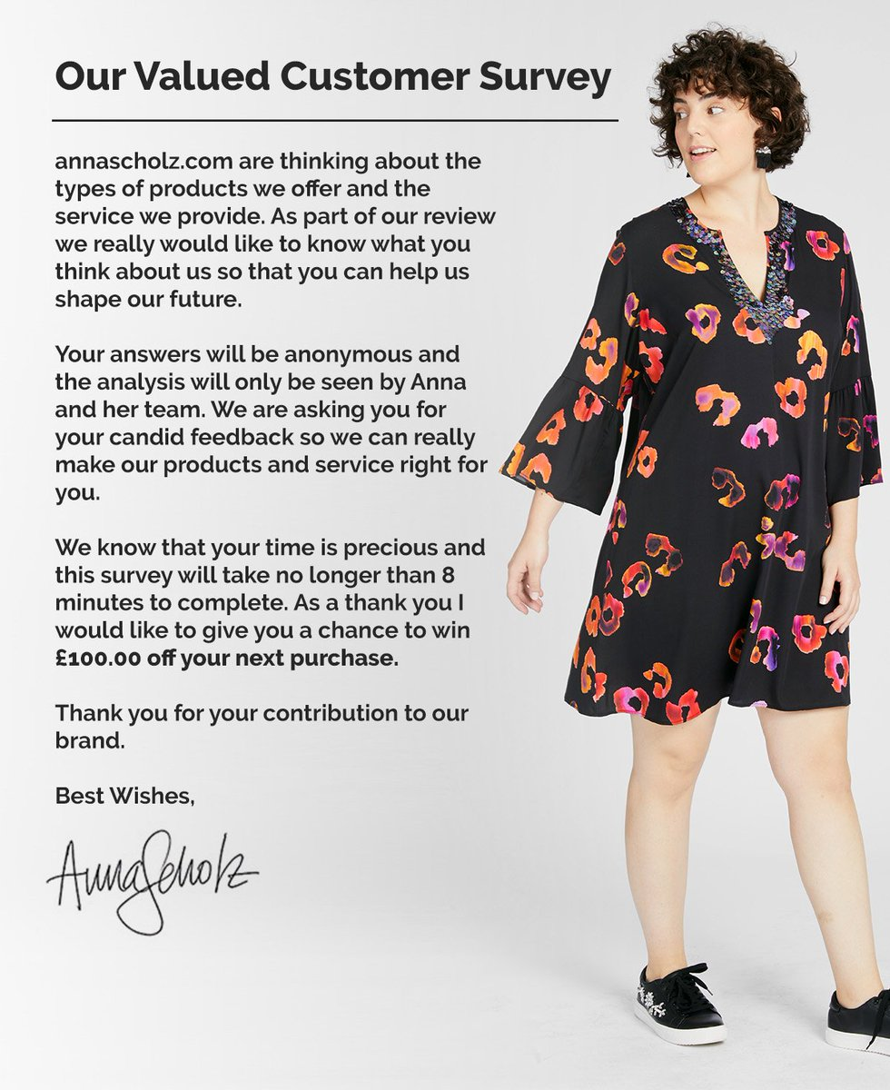 test Twitter Media - Your opinion matters! Please help us with our new survey #annascholz #plussizedesigner https://t.co/Yfm96tPQOB https://t.co/aZI7JEOjxK