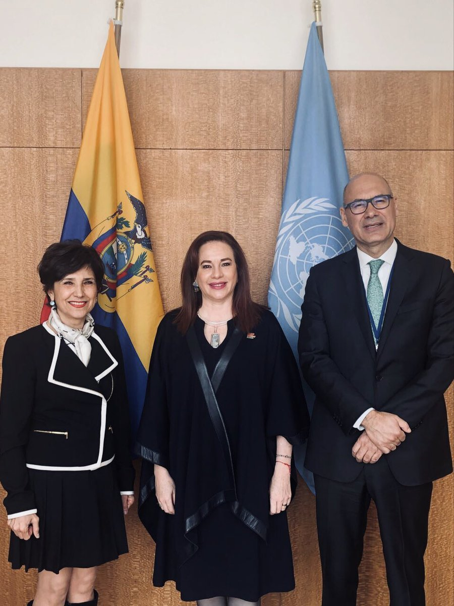 UN GA President's photo on Lopes