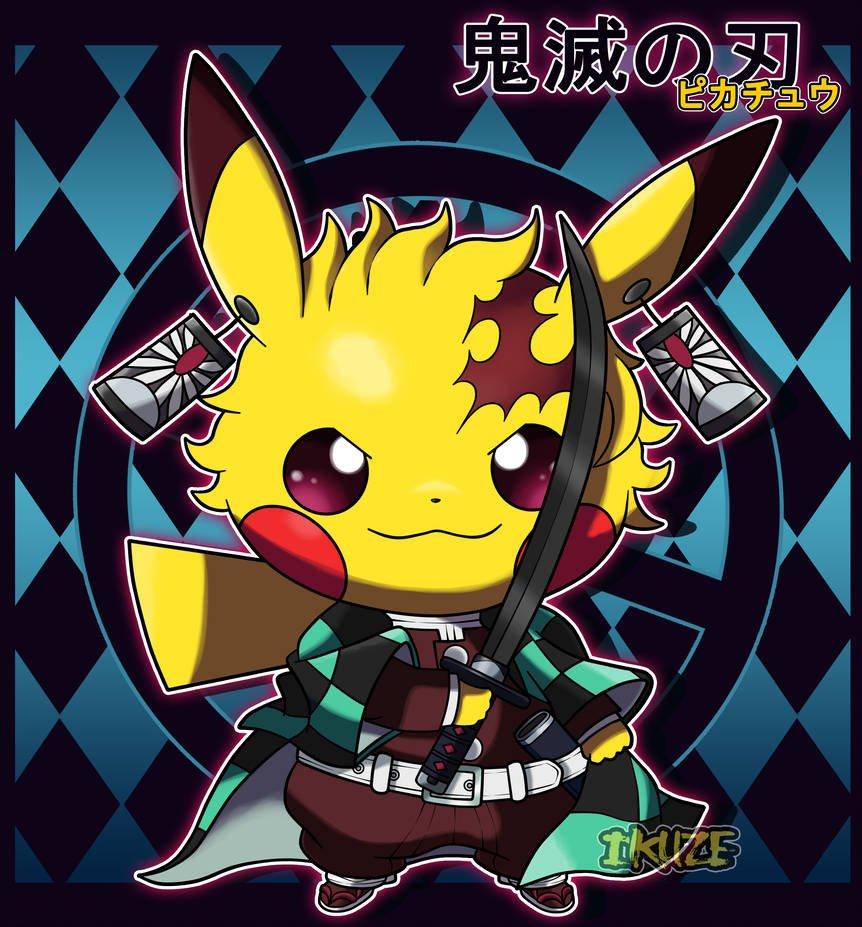 Risultati immagini per pikachu goku