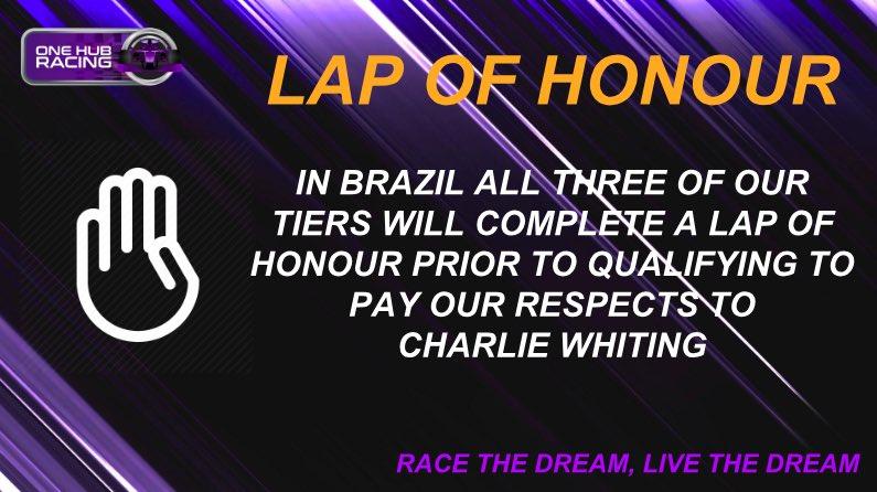One Hub Racing's photo on Charlie Whiting