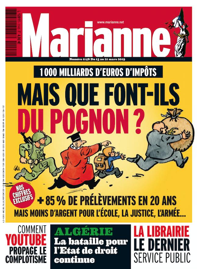 Marianne est arrivé en kiosques ! #VendrediLecture https://t.co/k3mx941HP5 https://t.co/HVdfMjL9Uf