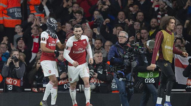 Gol Caracol's photo on Arsenal 3-0 Rennes
