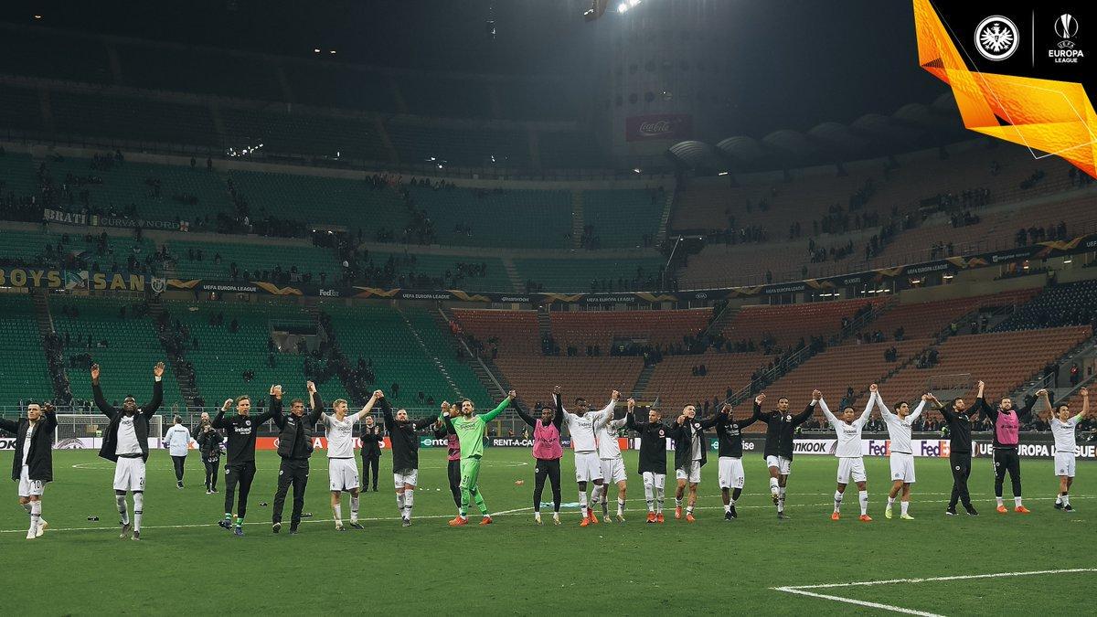 Jovic fires Eintracht into @EuropaLeague quarter-finals!  To the match report   http:// sge.de/ji  &nbsp;   | #SGEuropa | #InterSGE <br>http://pic.twitter.com/l3Ek6MSqeH