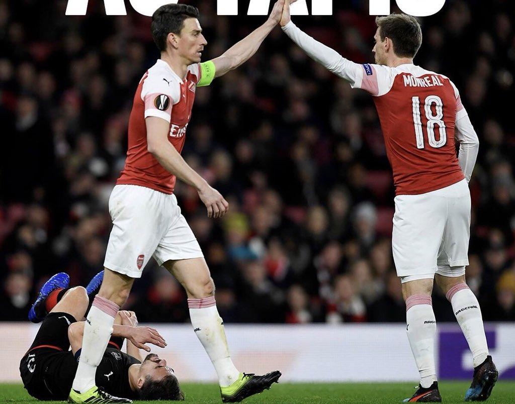 We did it 🔥🔥🔥 @Arsenal https://t.co/JDgBoR8KOX