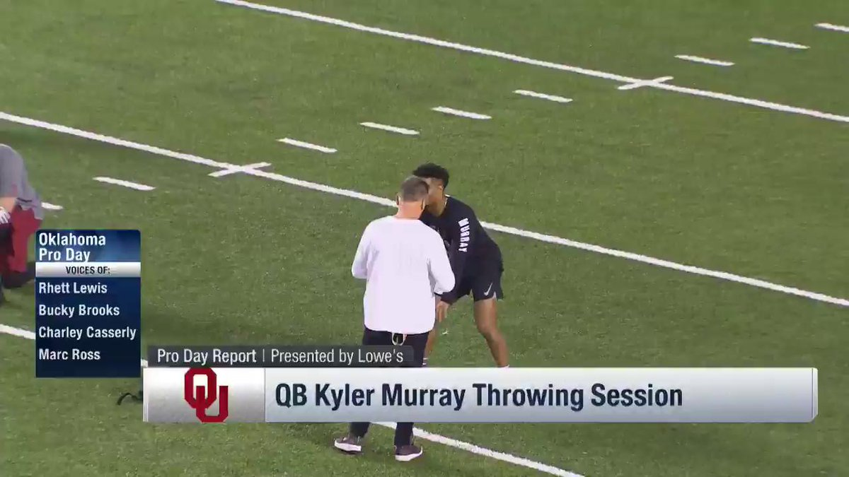 The BEST from @OU_Football QB @TheKylerMurray's Pro Day!