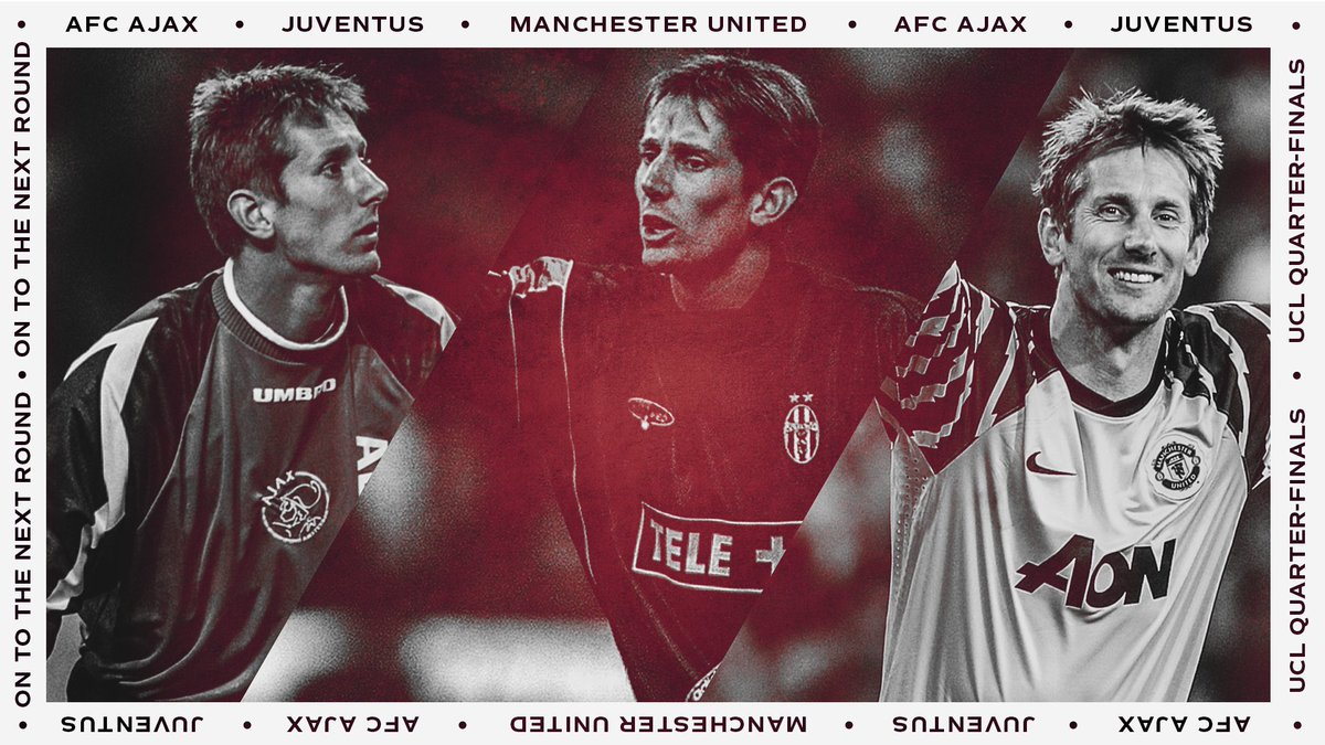 Who is excited about the @ChampionsLeague draw today? Will there be a return to Turin or Manchester coming up for me?  What do you guys think @AFCAjax @juventusfc @ManUtd #UCL