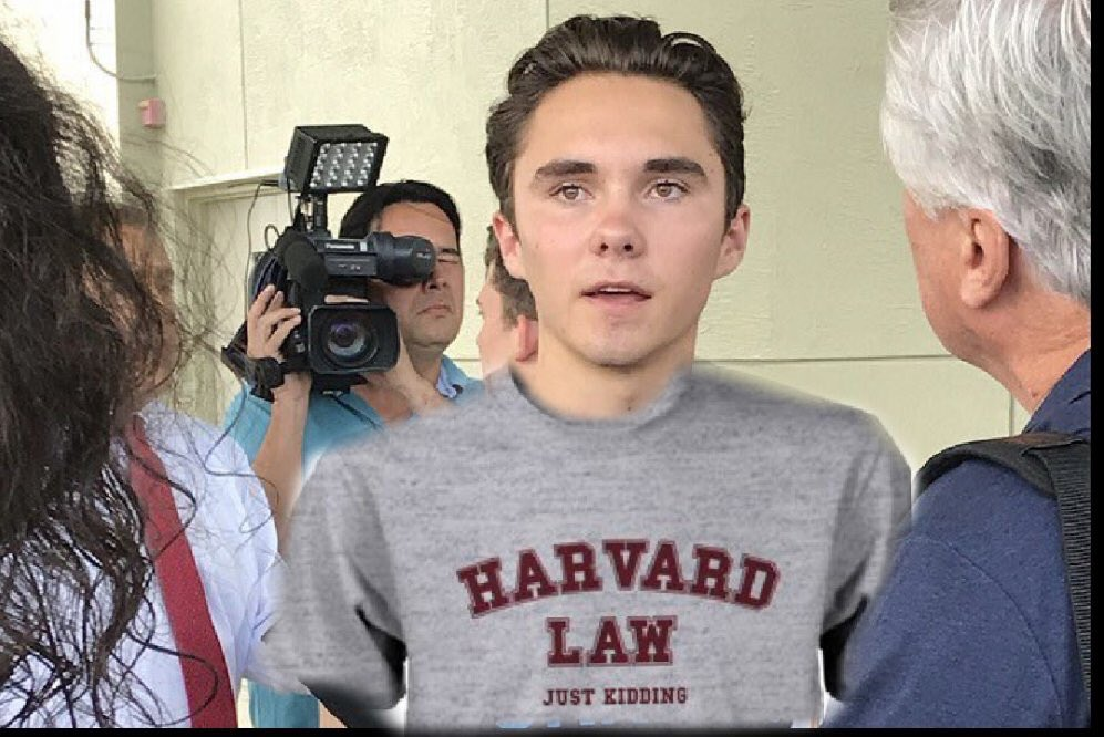 The unfortunate part of this college admissions scandal, is it takes away from good kids who totally earned their way into great schools without bribes! For example, THIS KID earned his way into Harvard Law school legitimately! 😂😂