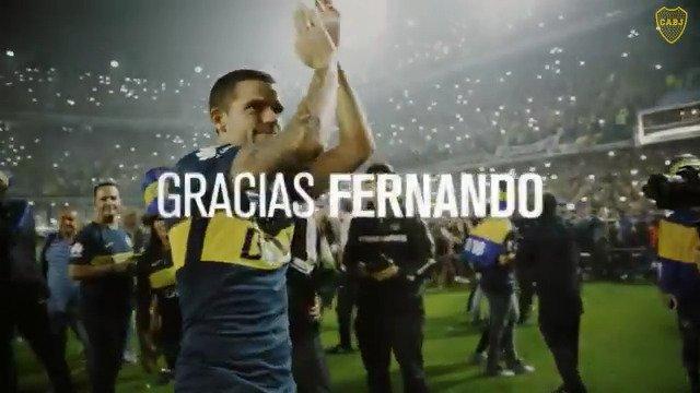 Boca Jrs. Oficial's photo on #GraciasFernando