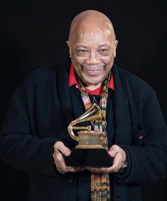 Grammy legend Quincy Jones turns 86 today! Happy Birthday