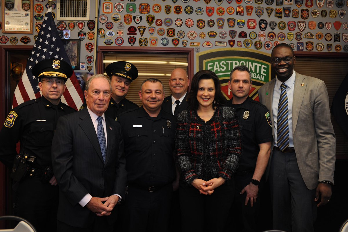 States are leading the fight against the opioid epidemic. That's why I'm partnering with @GovWhitmer to provide the resources & expertise necessary to end this crisis once and for all. Glad to meet with you & dedicated first responders in Michigan today. https://bit.ly/2TADlz6