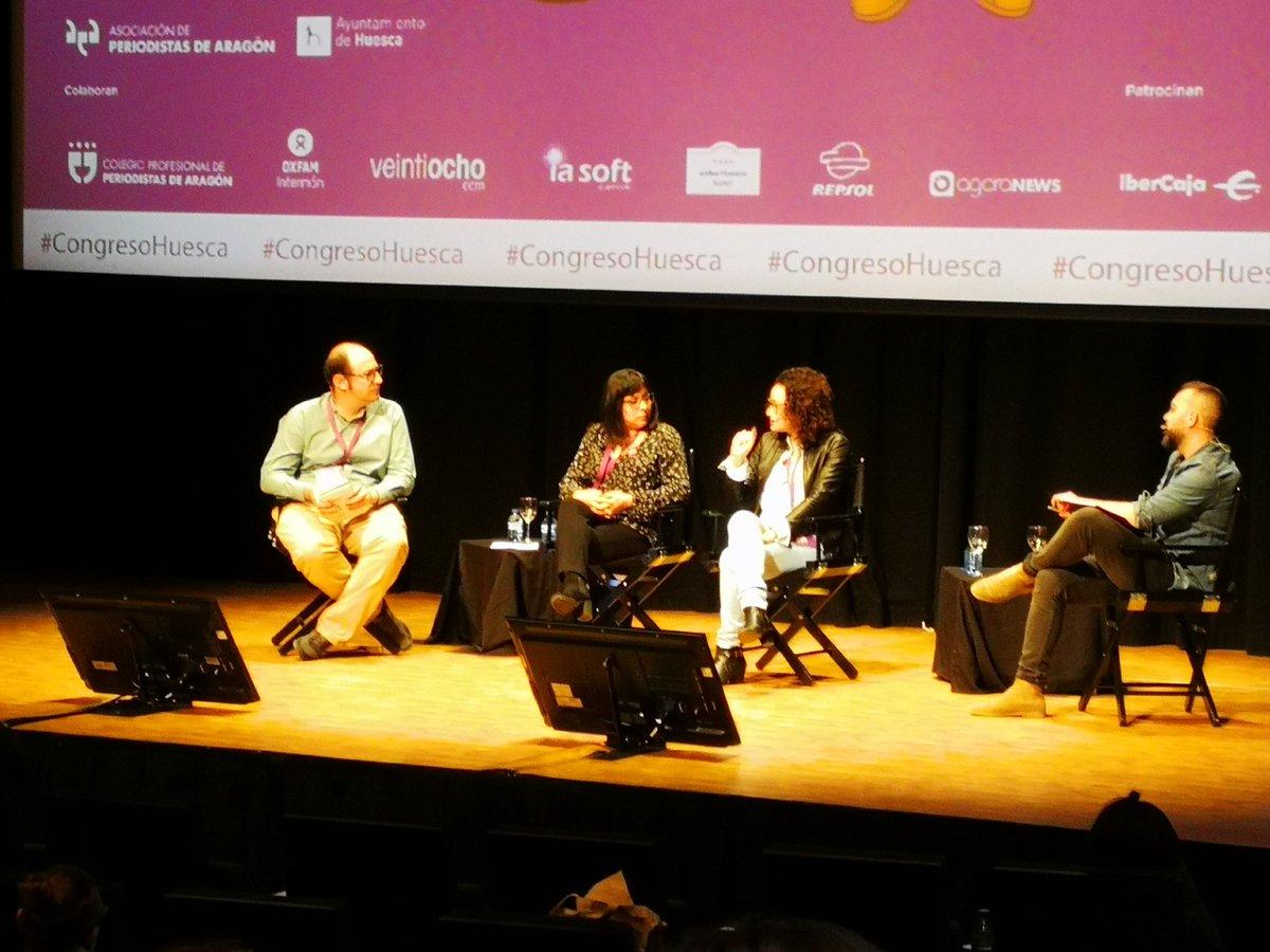 Conversaciones con's photo on #CongresoHuesca