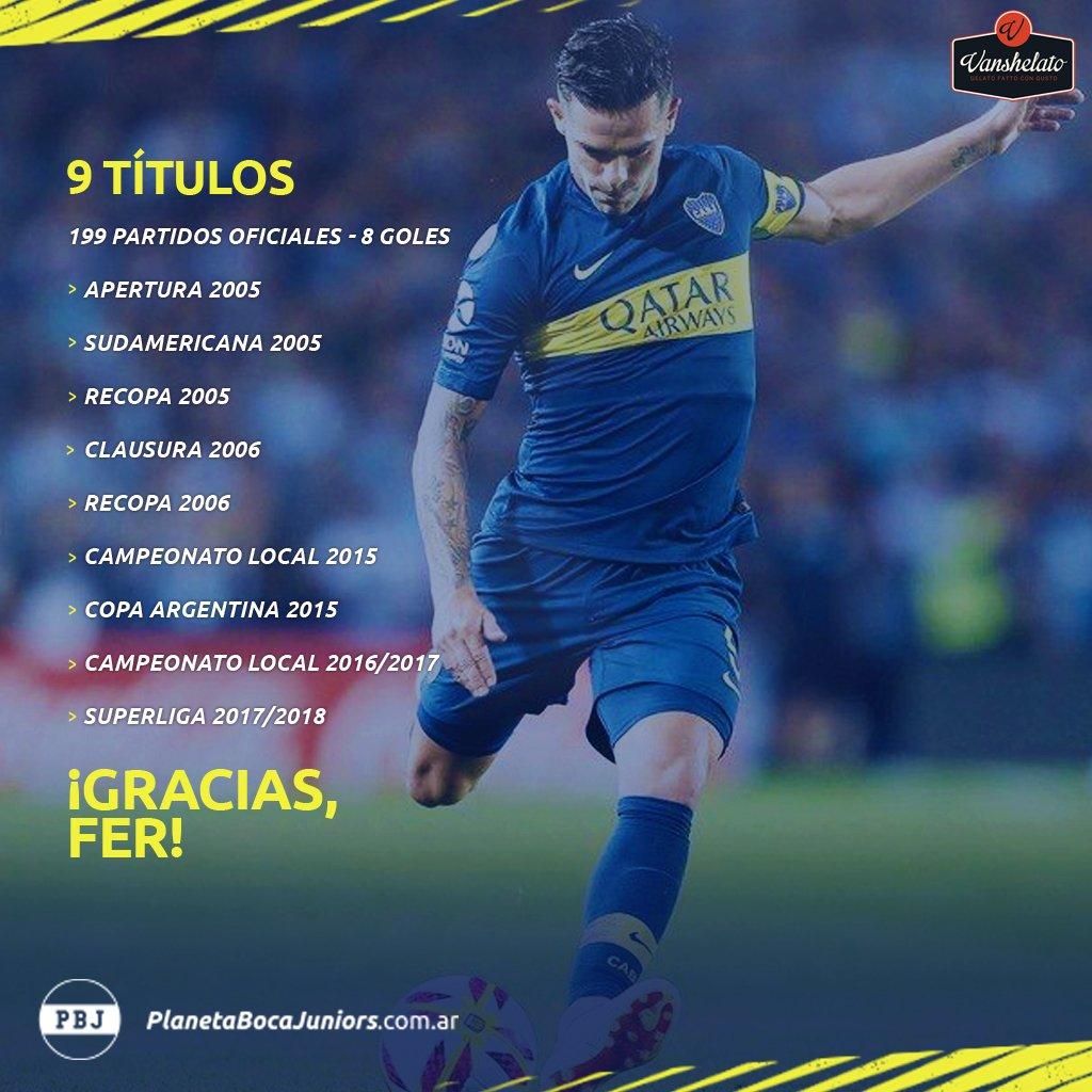 Planeta Boca Juniors's photo on #GraciasFernando