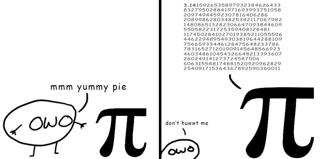 \( owo )\ - its #piday2019 but i don't like   _/   \_       this kind of pie owo <br>http://pic.twitter.com/Hsi1iRjKJY